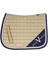 "<span class=""a-offscreen"">[Sponsored]</span>Montana Coolmax Quick Dry Lining All Purpose Saddle Pad Navy Blazer Full"