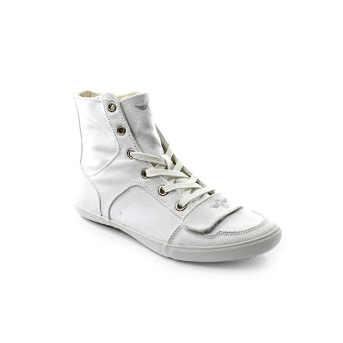 Creative Recreation Women's Cesario XVI Classic Fashion Sneaker,White,8 M US