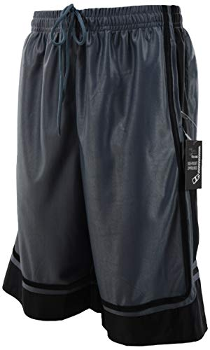 The JDP Co. Men's Athletic Gym Training Basketball Shorts (M, ()