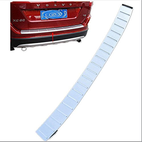 Moonet Stainless Steel Rear Bumper Sill Protector Plate Fit 2014-2015 Volvo XC60