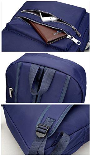 AOTIAN 7787 - Bolso mochila  para mujer rojo K-RED I-BLACK
