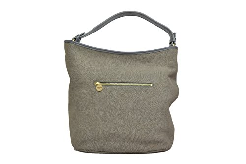 Melluso accessori Shopping bag borsa donna fango M10273