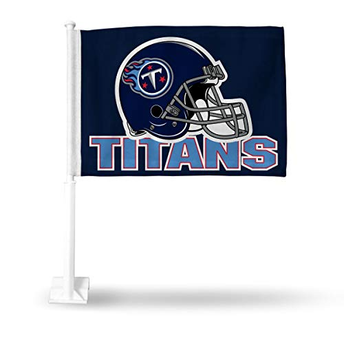 Rico Tennessee Titans NFL 11X14 Window Mount 2-Sided Car Flag