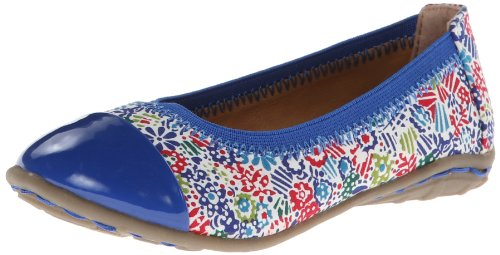 Kenneth Cole Reaction Roll - Kenneth Cole Reaction Buck N Roll 2 Ballet Flat (Toddler/Little Kid),Blue Floral,10 M US Toddler