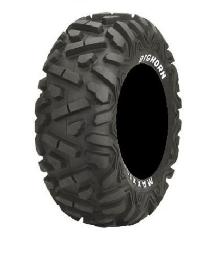 Full set of Maxxis BigHorn Radial 27x9-12 and 27x12-12 ATV Tires (4)