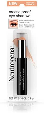 Neutrogena Crease Proof Eye Shadow With Primer, Constant Copper 40, .1 Oz