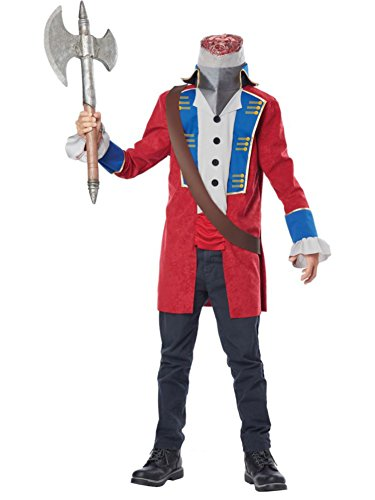 [California Costumes Sleepy Hollow Headless Horseman Child Costume, X-Large] (Red Halloween Kids Costumes)