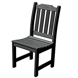 Highwood Lehigh Armless Dining Chair, Black