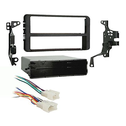 Metra 99-8201 Single DIN Dash Kit + Harness for 2000-2005 Toyota Celica/Echo (Toyota Echo Radio Kit compare prices)