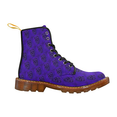 LEINTEREST Skull Martin Boots Fashion Shoes For Women KzpOJ