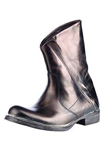 BUNKER Stiefelette - Botas de Piel para mujer: Amazon.es: Zapatos y complementos