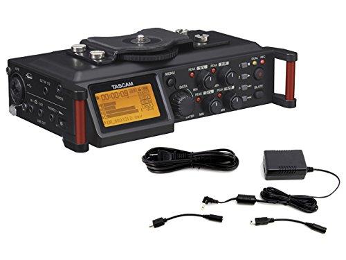 [해외] TASCAM 카메라용PCM레코더 DR-70D + AC어댑터 PS-P520E 세트