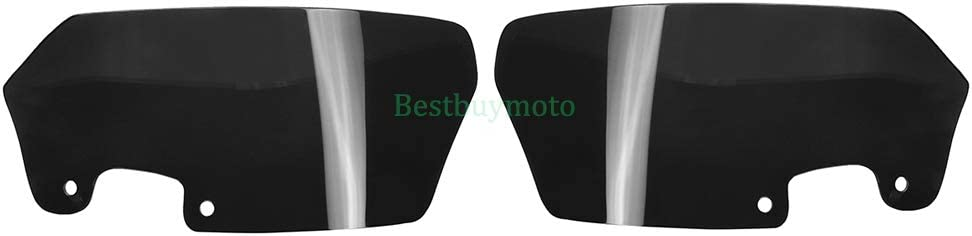 Windshield Side WindScreen Airflow Deflector Wind Cowl For BMW R1200 GS ADV 2008