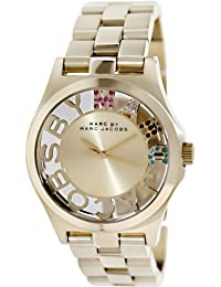 Marc by Marc Jacobs Crystal & Goldtone Stainless Steel Watch - Gold