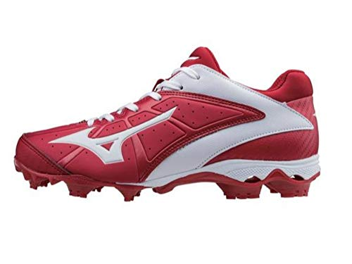 6307a795af4bec Mizuno Womens Variation Red Softball Cleats 5.5 Medium (B