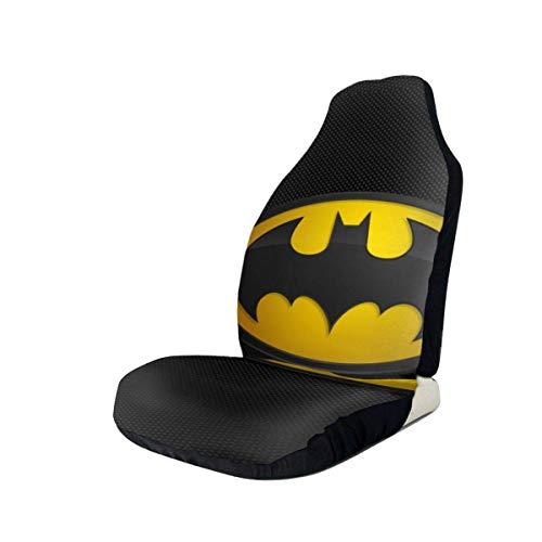 DAWN&ROSE Autostoelhoezen Bat-Man voorstoelbeschermer 3D bedrukte universele stoelen antislip covers voor de meeste auto…