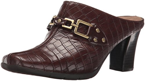 A2 by Aerosoles Women's Matrimony Mule, Brown Crocodile, 9.5 M US by Aerosoles