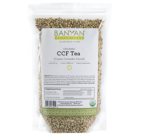 Banyan Botanicals CCF Tea (Cumin, Coriander, Fennel) - USDA Organic - Digestive Tea to Support Natural Detoxification* (1/2 - Lenses To Way Clean Best