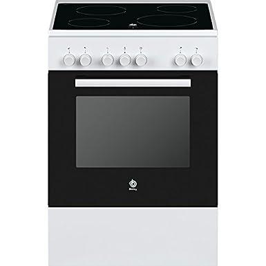Balay 3CVB463BQ - Cocina (Cocina independiente, Blanco, Giratorio ...
