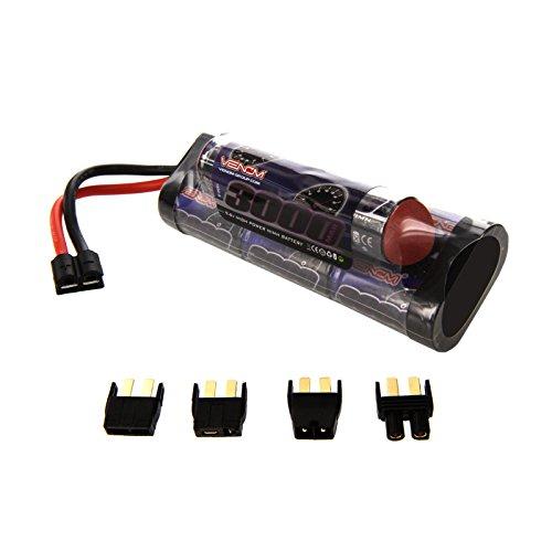 Venom 9.6V 3000mAh 8-Cell Hump Pack NiMH Battery with Universal Plug (EC3/Deans/Traxxas/Tamiya)