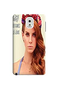 New Style Hot Sale Unique fashionable Lana Del Rey Design for note3 note3 Phone Case