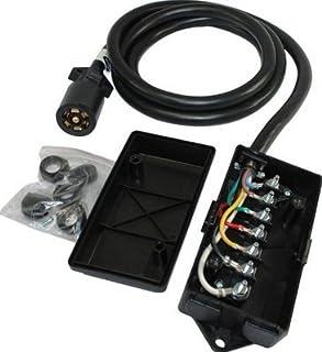 41hraVpY36L._AC_UL320_SR294320_ amazon com conntek roj black 7 way plug inline trailer cord,Horse 7 Spade Trailer Wiring