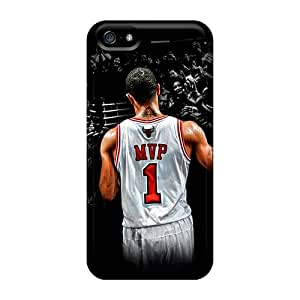 Tough Iphone Diy40227kINQ Cases Covers/ Cases For Iphone 5/5s(derrick Rose)