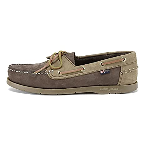 d26e18004039e Amazon.com  Henri Lloyd Arkansa Deck Shoes - Dark Brown Brown ...