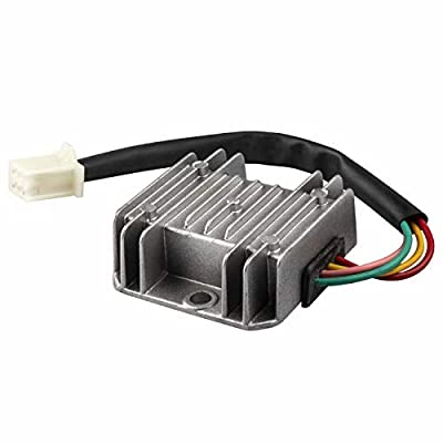 1PZ RV2-W04 4 Wires Voltage Regulator Rectifier for Motorcycle Boat ATV GY6 50 150cc Scooter Moped JCL NST Taotao: Automotive