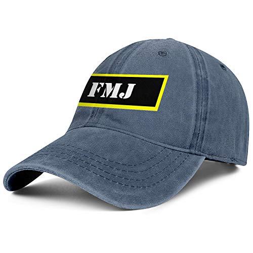 - FMJ Ammo Mens Womens Cowboy Hat Classic Cute Baseball Jeans Caps Funky Fish Tank Cap Sun Hat