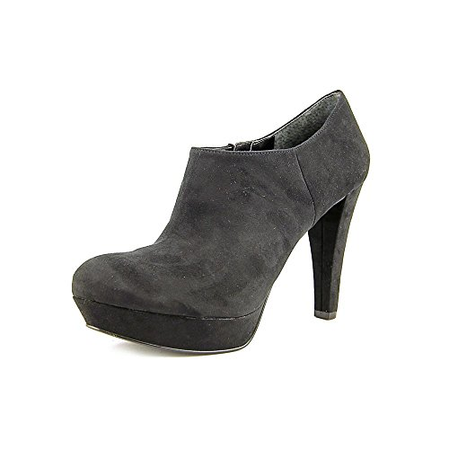 Size Black Booties 10 Abetter2 Shoes Faux US Suede Marc Womens Fisher aqwFFZI