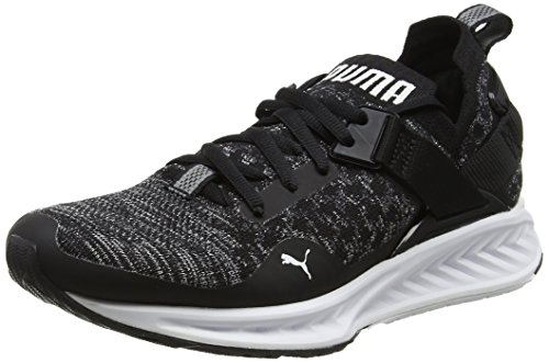 Puma Shade SHADE quiet Black white Wns Lo WHITE BLACK Ignite EvoKnit QUIET Women's faqRrf