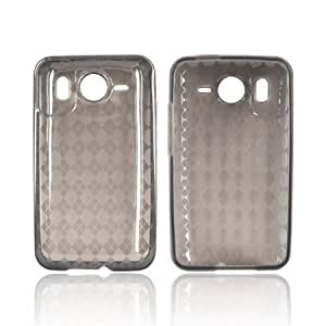Viesrod - ARGYLE SMOKE Crystal Silicone Case For HTC Inspire 4G
