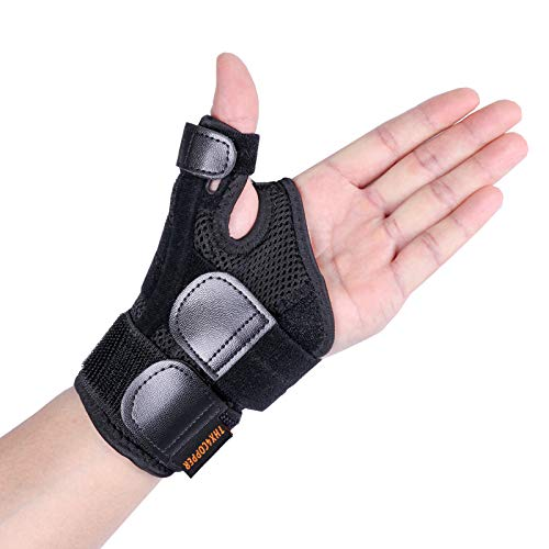 - Thx4 Copper Arthritis Thumb Splint with Hand Spica Brace-Soft Trigger Thumb Stabilizer-Sprains, Tendonitis Pain Relief, Carpal Tunnel, Strains or Arthritis-Immobilizer Fits Left/Right Wrist, Hand.