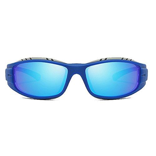 Sol KTYX Sol A Gafas Blue Sol Gafas De Gafas Gafas Sol Prueba Amarillo de Montar De De Color Viento De Polarizadas Gafas De rrAwaq