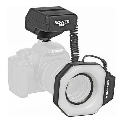 (Bower SFDRF Digital MACRO Ring Light Flash for Nikon, Canon, Pentax and Olympus Digital and 35mm SLR Cameras)