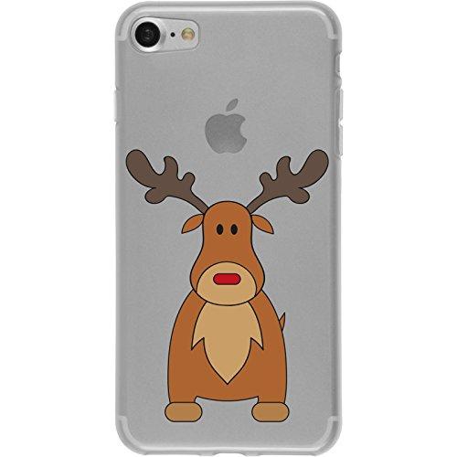PhoneNatic Apple iPhone 7 Coque en Silicone Noël X Mas Motif 3 Case iPhone 7 + films de protection