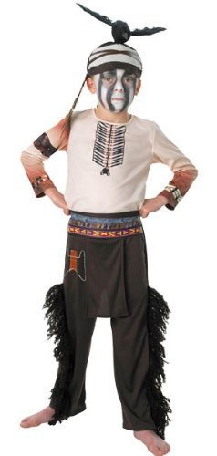 The Lone Ranger - Children's Tonto Costume - Medium (5 - 6 (Lone Ranger Kid Costume)