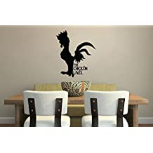 Inspired by Moana Wall Decal Sticker The Chicken Lives