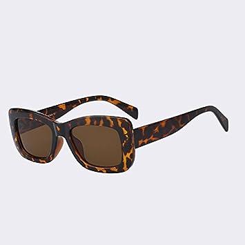 TIANLIANG04 Gafas de Sol de la Mujer Marca de Dibujo Sombras ...