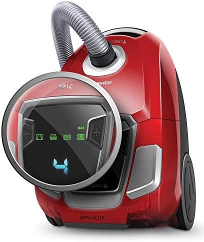 Inventor EP-BG62 5+, Aspirapolvere a Traino con Sacco, Display A LED, Silenziosa 68 (Db), 700W, capacità di 3,5L, Filtro HEPA
