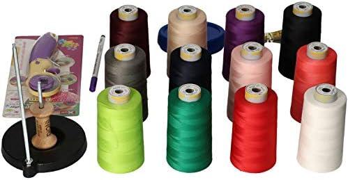 Bernette Chicago 5 KIT Costura DIONI premium 12 Conos 5000m ...