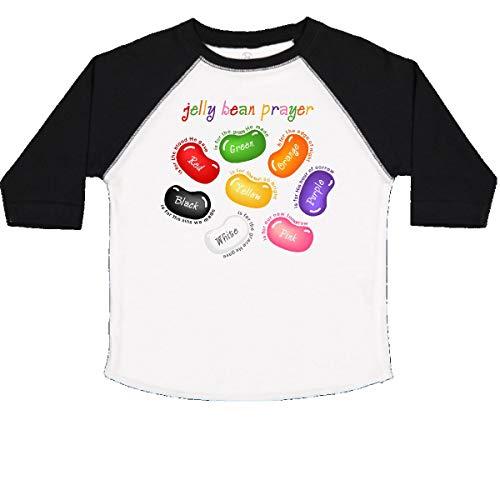 inktastic Jelly Bean Prayer Toddler T-Shirt 2T White and Black]()