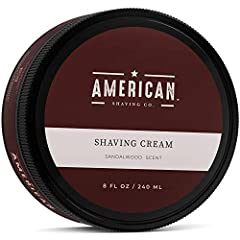 THE PERFECT SHAVE              Designed for men who want the closest, most comfortable shave possible, American Shaving Shaving Cream provides a rich, luxurious lather that protects skin and softens the beard for a smooth, eff...