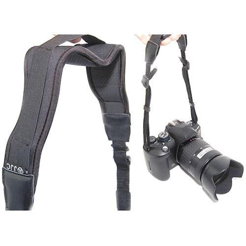 JJC Pro-Strap extra amplia cámara de liberación rápida correa para el cuello para Canon EOS 10D, 20D, 30D, 40D, 50D, 60D, 70D, 300D, 350D, 400D, 450D, 500D, 550D, 600D, 650D, 700D, 1000D, 1100D, 1200D NS-T1