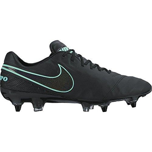 Nike Tiempo Legend Vi Sg-Pro, Botas de Fútbol para Hombre Negro (Black / Black)