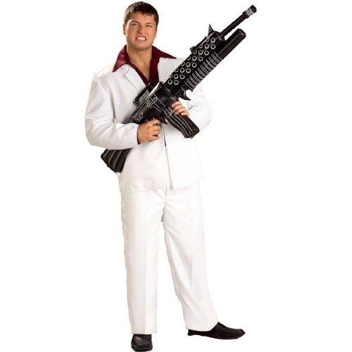 Tony Montana Scarface Costumes (Tony Montana Inflatable Weapon)