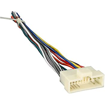 41hre9uBJ0L._SL500_AC_SS350_ amazon com metra 70 1003 radio wiring harness for kia 95 03 power 2006 kia spectra radio wiring harness at gsmportal.co