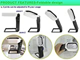 Foldable Magnifying Glass with Light and
