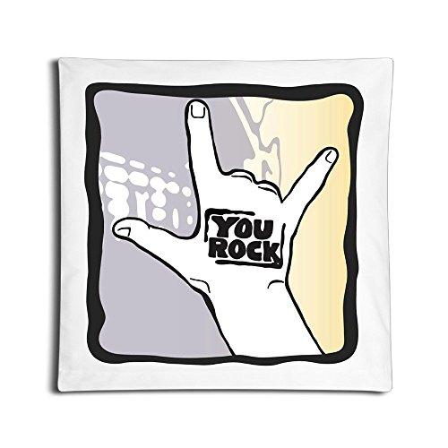 Custom Pillow Pillow Cases Punk Rock Handled Table White (Lil Viking Costume)